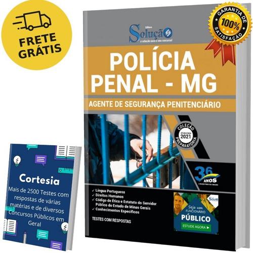 Apostila Agente Penitenciário Agepen Mg - Polícia Penal Mg