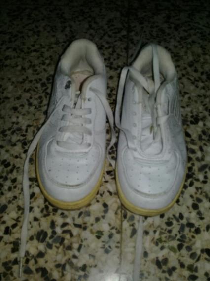 Zapatos Deportivos Colegiales Escolares Talla 30 Rs21
