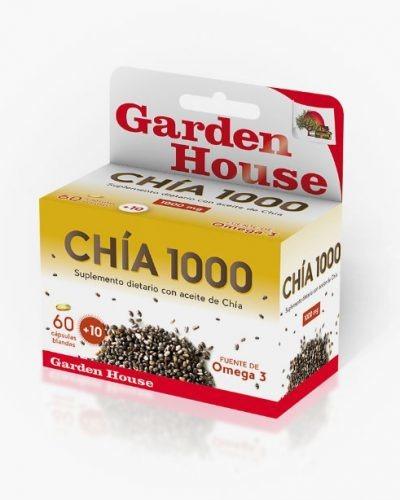 Chía 1000 Gardenhouse Omega 3 X 60 Caps - Energypharma