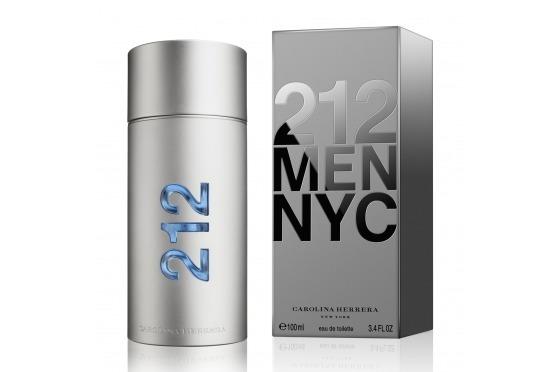 Perfume Carolina Herrera 212 Nyc Masculino 100 Ml