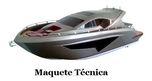 Imagem 1 de 9 de Casco Lancha Iate Deck 53 Pés Attalus Personalizado Promoção