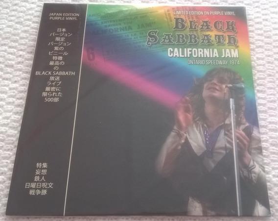 Lp Black Sabbath California Jam Ontario Speedway 1974 Selado