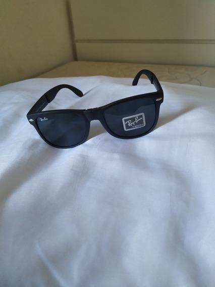 Novo -Óculos Ray-ban Wayfarer Dobrável Origi