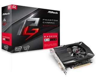 Asrock Phantom Rx550 2gb - Tarjeta De Video - Signetic