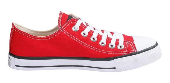 Tênis Converse All Star Core Ox Cano Baixo Infantil Vermelho