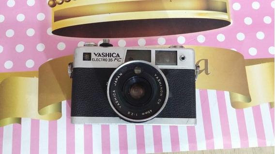 Câmera Analógica Yashica Electro 35 Em Bom Estado