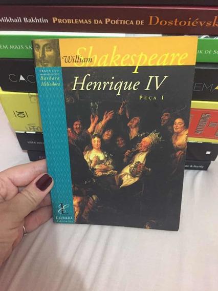 Livro Henrique Iv Peça I Tradução Barbara Heliodora