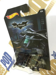 Hot Wheels Carro Batman Dark Knight Rises Série Marvel 2014