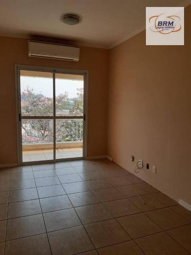 Apartamento Com 3 Dormitórios À Venda, 80 M² Por R$ 540.000,00 - Centro - Vinhedo/sp - Ap0236