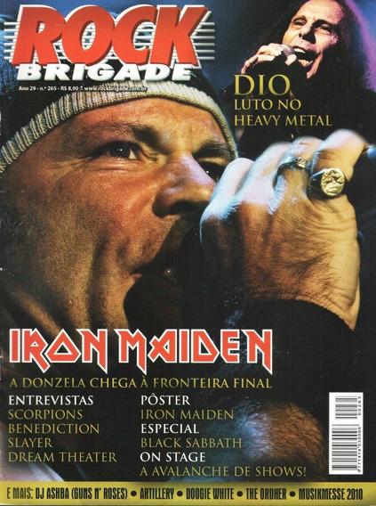 Rock Brigade 265 Iron Maiden Dio Slayer Guns N