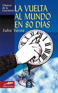 Vuelta Al Mundo En 80 Días, Julio Verne, Edimat