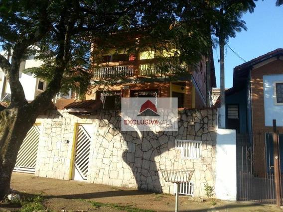 Casa Com 4 Dormitórios Para Alugar Por R$ 2.900,00/mês - Jardim Das Indústrias - São José Dos Campos/sp - Ca0365