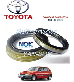 Estopera Kit Rueda Delantera Toyota Starlet Nok