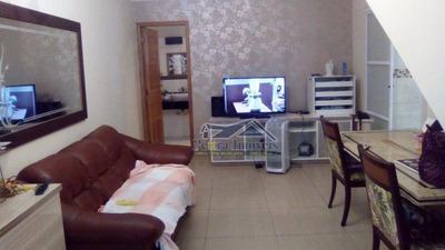 Vendo Excelente Sobrado C/3 Dormitórios 1 Suite C/ Piscina Na Guilhermina, Praia Grande. - So0027