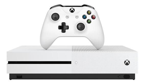 Console Xbox One S 1tb+1 Controle+game Star Wars Jedi Fallen