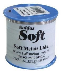 Solda Trifluxo 40 X 60 2,5mm C/500gr
