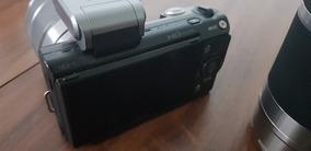 Camera Sony Nex 5 + Lente 18-55 + 55-200