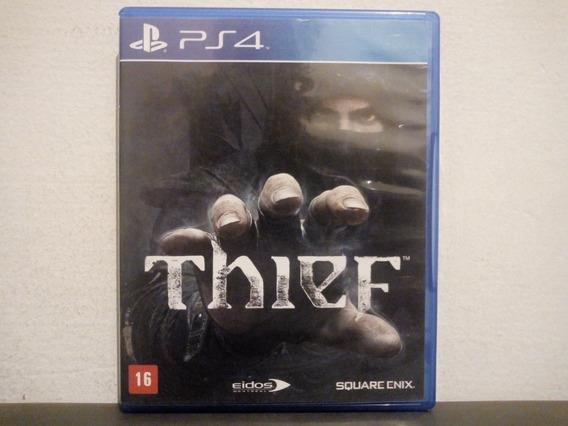 Ps4 Thief - Original & Completo - Aceito Trocas...