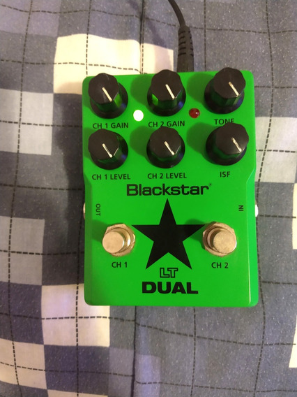 Pedal Blackstar Lt Dual + Fonte Bivolt - Excelente Estado