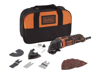 Sierra Oscilante Multicortadora Black Decker Mt300k Accesori
