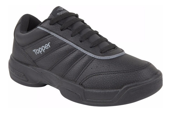 Zapatillas Topper Tie Break Iii Negras Para Tenis Off Court