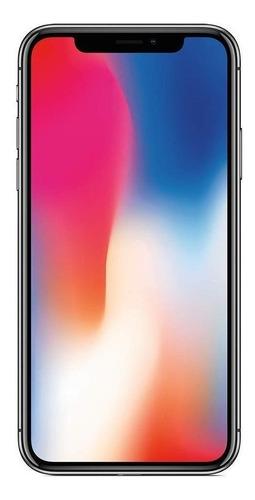 Celular Smartphone Apple iPhone X 64gb Prata - 1 Chip