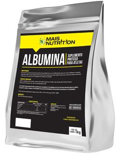 3 Albumina 1kg 1 Kg Kilo Refil Mais Nutrition