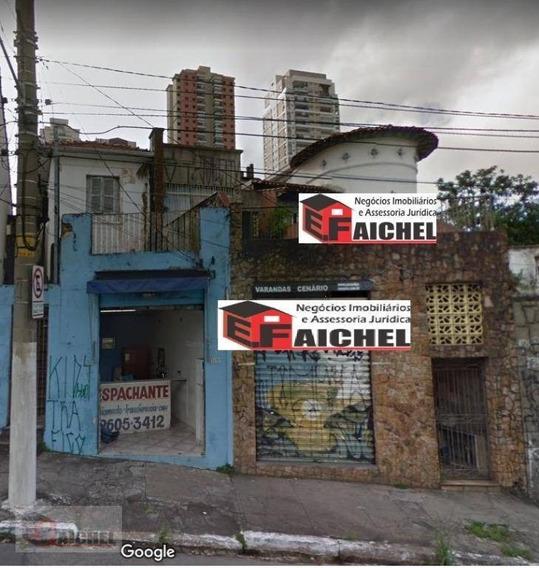 Terreno À Venda, 450 M² Por R$ 800.000,00 - Vila Regente Feijó - São Paulo/sp - Te0080