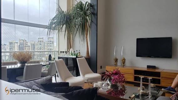 Luxuoso Apartamento No Panamby, Debruçado No Parque Burle Marx - São Paulo - Ap0714