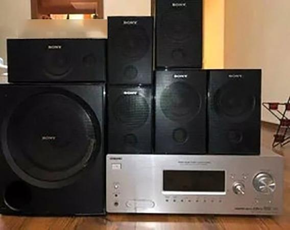 Receiver + Sub + Caixa | Sony Str K880 | Home Theater Comp.