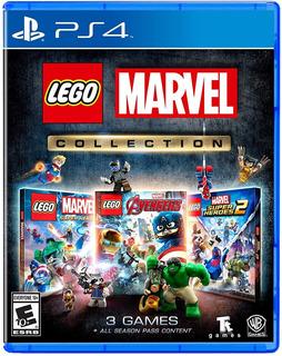 Lego Marvel Collection / Juego Físico / Ps4