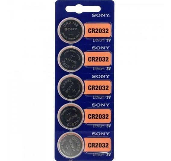 Bateria Sony Cr 2032 3v Lithium Cartela C/ 5 Unid Placa Mae