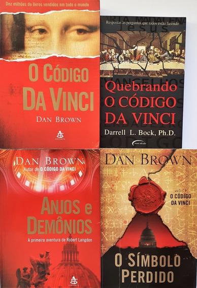 O Código Da Vinci+anjos E Demônios+o Simbolo Perdido+1 Livro