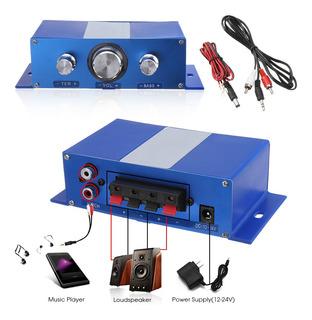 200w Mini 2 Canales Hifi Amplificador De Audio Estéreo De Co