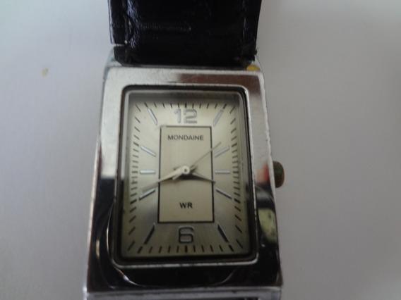 Relógio Feminino Mondaine 76135lqmtnh1 Retangular