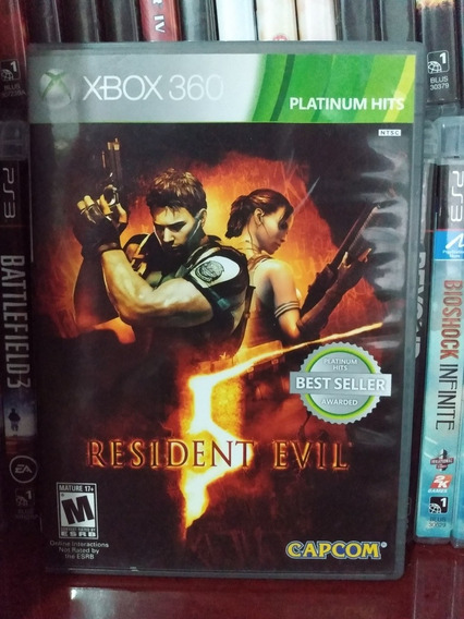Resident 5 Original Xbox 360   Parcelamento Sem Juros
