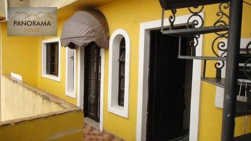 Casa Com 3 Dormitórios Para Alugar, 160 M² Por R$ 2.500,00/mês - Vila São João - São Bernardo Do Campo/sp - Ca0004