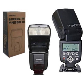 Flash Yongnuo - Yn 560 Ill Speedlite P/ Canon E Nikon