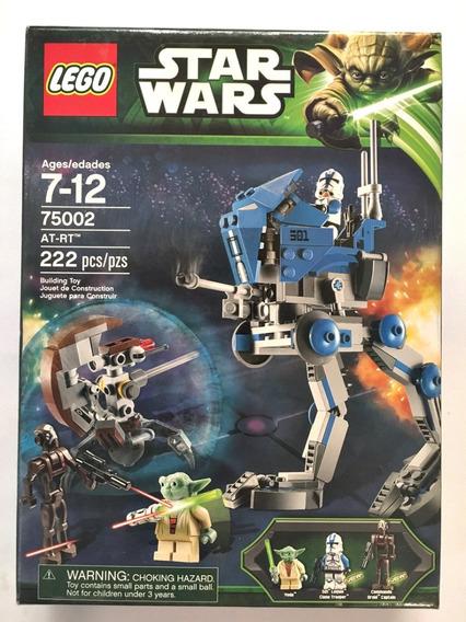 Lego Star Wars 75002 At-rt Walker Yoda 501st Clone Trooper