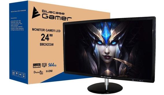 Monitor Gamer Led 24 Bluecase 144hz 1ms Freesync Hdmi Dp
