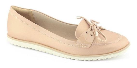 Sapato Feminino 1882103 Acetinado Com Cadarço - Ramarim