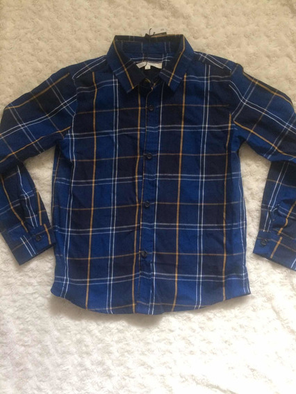 Camisa Niño Cuadros Importada Talla 8