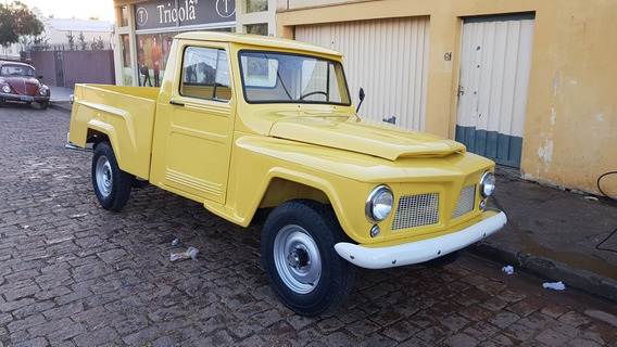 Ford F 75 Willis 4x4 6 Cil