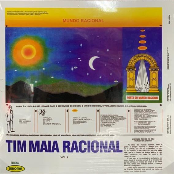 Lp Tim Maia - Racional Vol 1 Vinyl Novo Lacrado Frete Gratis