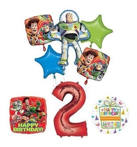 Globos Decorativos De Fiesta De Cumpleaños #2 - Toy Story