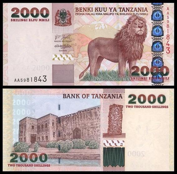 Tanzania P-37a Fe 2.000 Shilingi Nd ( 2003 ) * C O L *