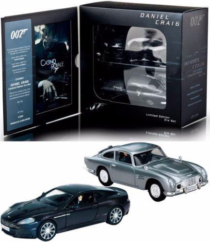 Set Miniaturas Aston Martin 007 Corgi Escala 1:36 Novo !
