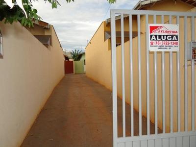 Casa Para Locação Em Andradina, Benfica - 2521