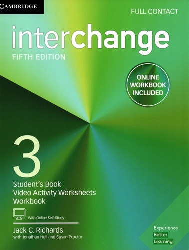 Interchange 3 Full Contact 5th Fifth Edition