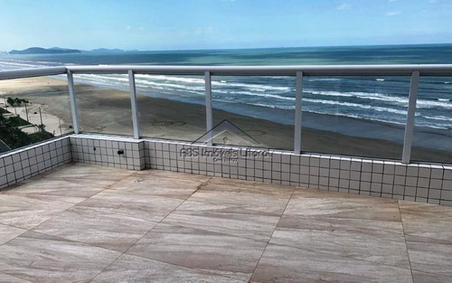 Imagem 1 de 15 de Cobertura Duplex 3 Suítes Na Vila Caiçara Na Praia Grande Sp